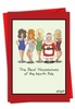 Funny Merry Christmas Card From NobleWorksInc.com - Real Housewives of North Pole