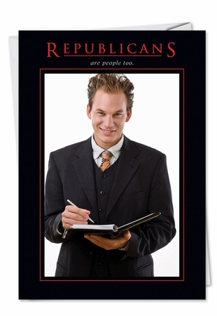 Humorous Birthday Card From NobleWorksInc.com - Republicans