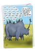 Hilarious Father's Day Card From NobleWorksInc.com - Rhino Ride