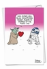 Funny Valentine's Day Card From NobleWorksInc.com - Roses Are Blue