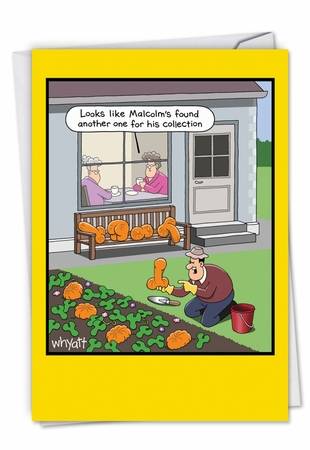 Hysterical Retirement Card From NobleWorksInc.com - Rude Vegetables