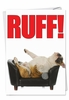 Hysterical Congratulations Card From NobleWorksInc.com - Ruff
