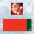 Beautiful Christmas Square-Top Card From NobleWorksInc.com - Santa Mouse Stockings