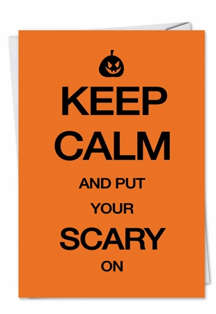 Humorous Halloween Card From NobleWorksInc.com - Scary On