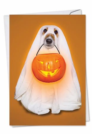 Funny Halloween Card From NobleWorksInc.com - Sheets and Giggles