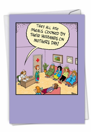 Funny Mother's Day Card From NobleWorksInc.com - Sick Mother's Day