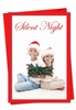 Hilarious Blank Christmas Card From NobleWorksInc.com - Silent Night