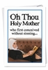 Hilarious Birthday Card From NobleWorksInc.com - Sin Without Conceiving