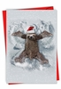 Hilarious Merry Christmas Card From NobleWorksInc.com - Sloth Angel