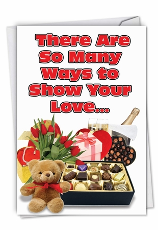 Hilarious Valentine's Day Card From NobleWorksInc.com - So Many Ways