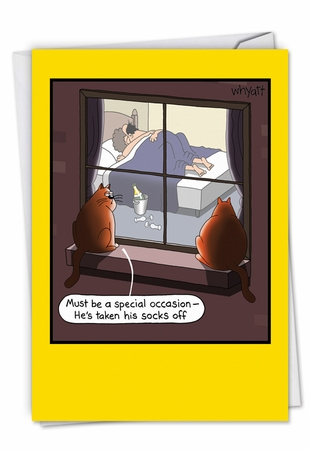 Hilarious Anniversary Card From NobleWorksInc.com - Special Occasion Sex