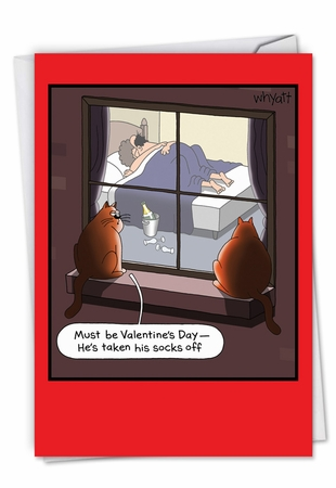 Hysterical Valentine's Day Card From NobleWorksInc.com - Special Occasion Sex