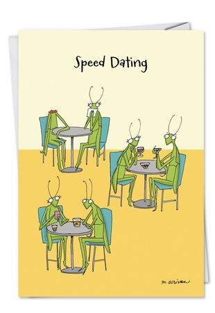 Funny Birthday Card From NobleWorksInc.com - Speed Dating