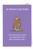 Hysterical Mother's Day Card From NobleWorksInc.com - Spit on Tissue