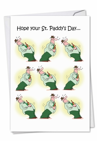 Hysterical St. Patrick's Day Card From NobleWorksInc.com - St. Paddy Rocks