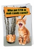 Funny Halloween Card From NobleWorksInc.com - Stix In Candy Corn