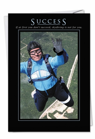 Funny Congratulations Card From NobleWorksInc.com - Success