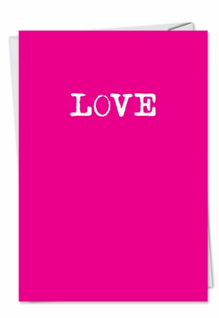 Hilarious Valentine's Day Card From NobleWorksInc.com - Things We Do Text