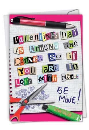 Hysterical Valentine's Day Card From NobleWorksInc.com - Time to Speak Up