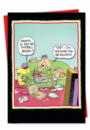 Hilarious Thanksgiving Card From NobleWorksInc.com - Training for thanksgiving