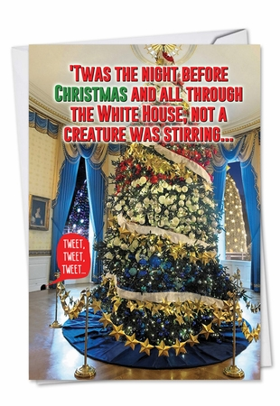 Hilarious Christmas Card From NobleWorksInc.com - Trump Twas The Night