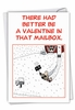 Funny Valentine's Day Card From NobleWorksInc.com - Valentine in the Mailbox