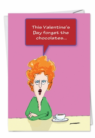 Hysterical Valentine's Day Card From NobleWorksInc.com - Toilet Seat