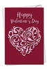 Beautiful Valentine's Day Card From NobleWorksInc.com - Vector Heart