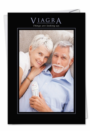 Funny Birthday Card From NobleWorksInc.com - Viagra