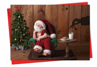 Beautiful Christmas Card From NobleWorksInc.com - Visions of Christmas