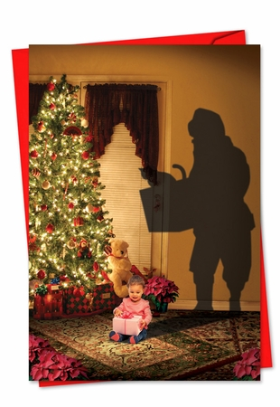 Artistic Christmas Card From NobleWorksInc.com - Visions of Christmas