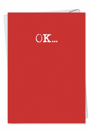 Hysterical Valentine's Day Card From NobleWorksInc.com - Wash It Text