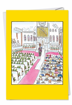 Funny Congratulations Card From NobleWorksInc.com - Wedding