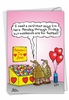 Funny Valentine's Day Card From NobleWorksInc.com - Weekends Are For Football