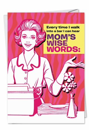 Funny Mother's Day Card From NobleWorksInc.com - Where It's Been
