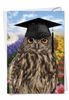 Hysterical Graduation Thank You Card From NobleWorksInc.com - Wise Old Owl