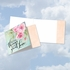Artistic Blank Friendship Square-Top Card From NobleWorksInc.com - Words of Encouragement Great Love