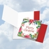 Artful Merry Christmas Square-Top Card From NobleWorksInc.com - Wreath Greetings