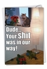 Humorous Birthday Card From NobleWorksInc.com - Your Shit