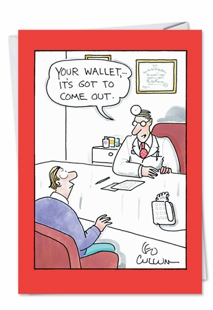 Funny Get Well Card From NobleWorksInc.com - Your Wallet