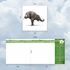 Artful Blank Square-Top Card From NobleWorksInc.com - Zoo Yoga - Elephant