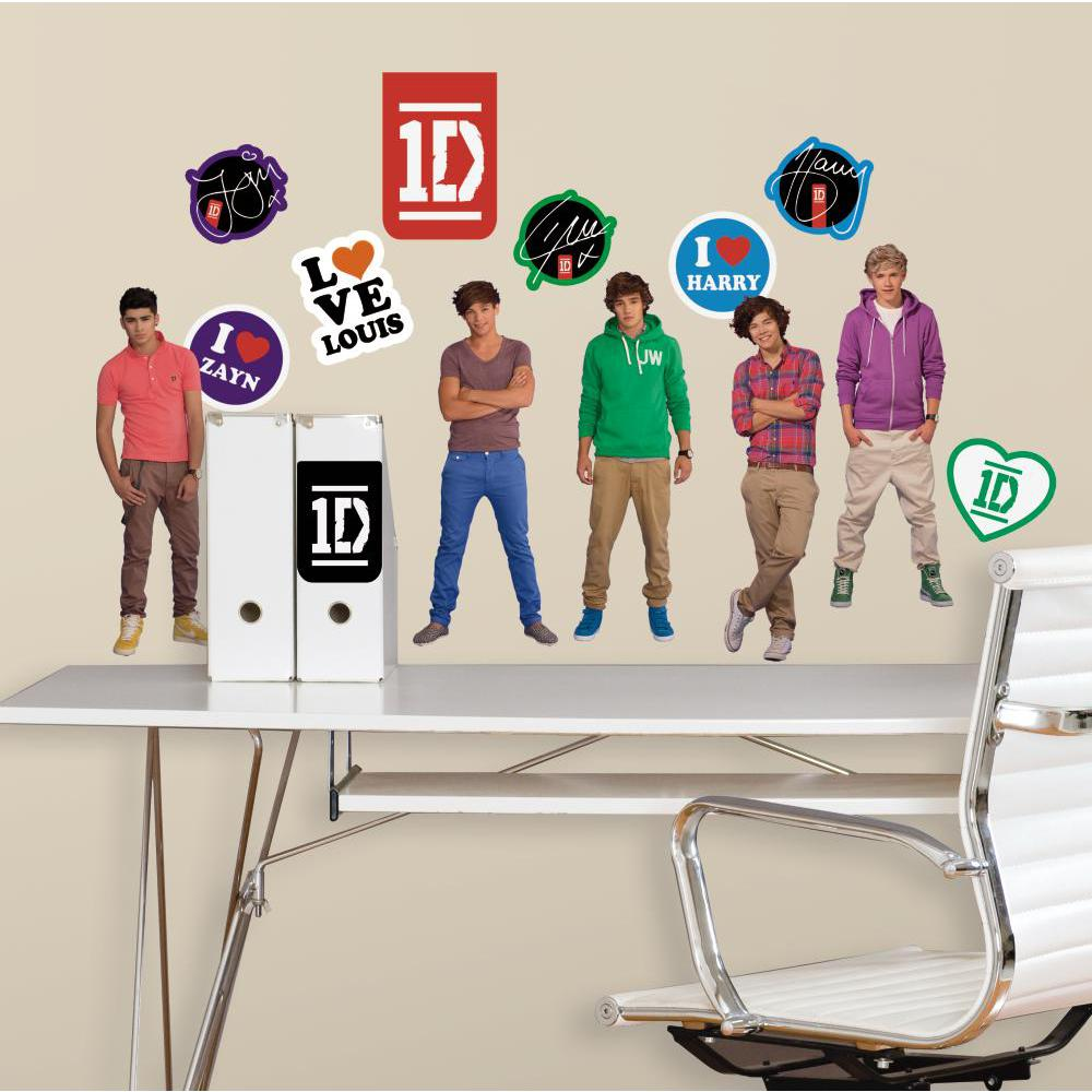 1 Direction Peel And Stick Decal
