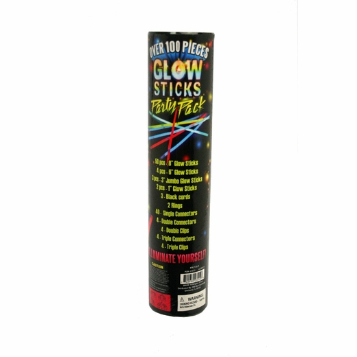 120 Piece Glowstick Assortment