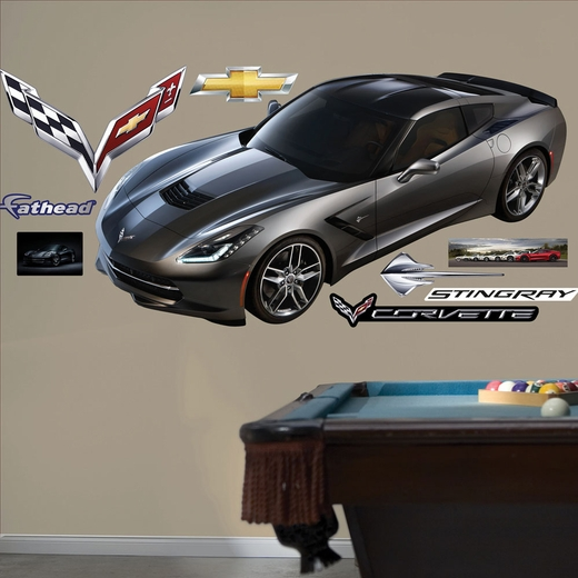 2014 Corvette Stingray REALBIG Wall Decal