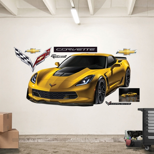 2015 Corvette Z06 REALBIG Wall Decal