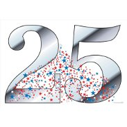 25th Anniversary Decorations & Party Supplies