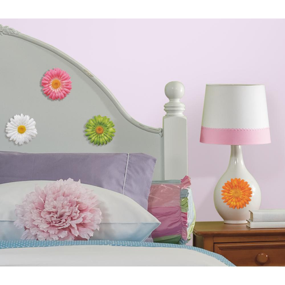3-D Gerber Daisy Peel And Stick Decal