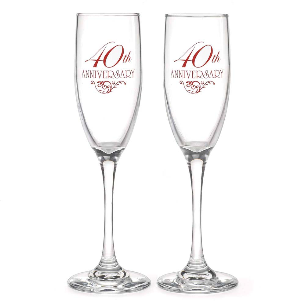 40th Anniversary Flutes
