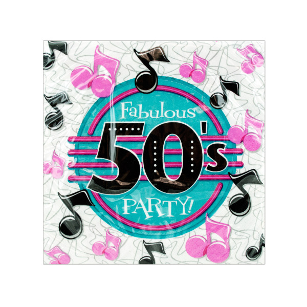 50s Party Napkins