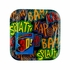 6.875 In. Superhero Fun Plates